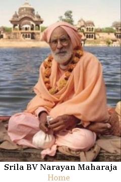 Srila BV Narayan Maharaja